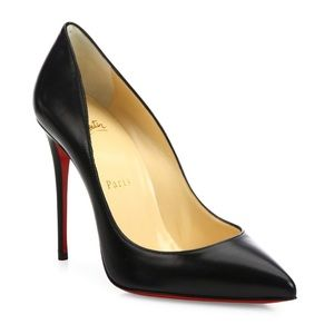 "Christian Louboutin ""Pigalle"" 100 Leather Pumps"